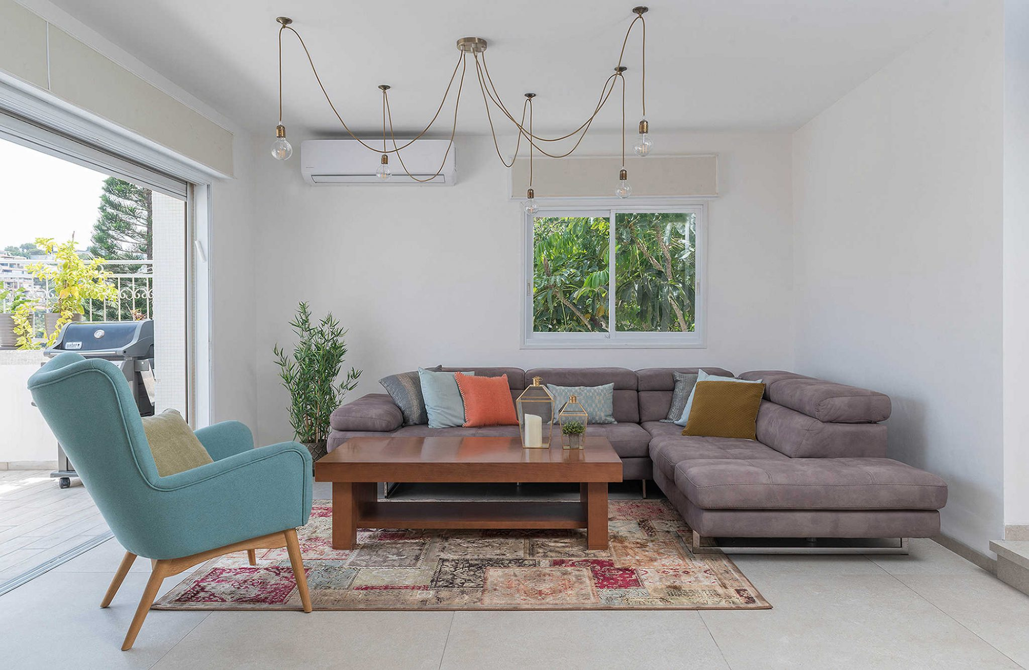 עיצוב פנים דירות יוקרה - הסלון